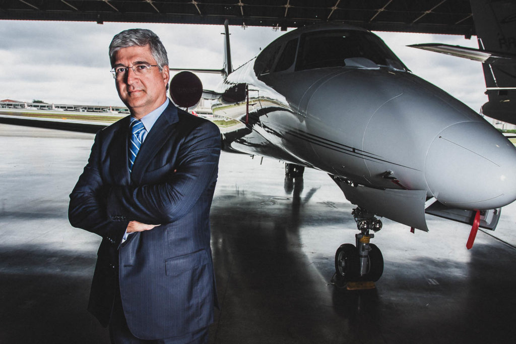 David Barioni, CEO of TAM Airlines