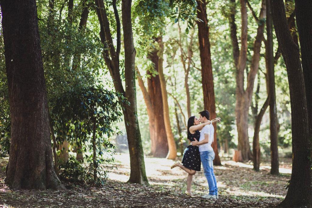 SAO PAULO, SP, BRASIL, 2014-02-01: Ensaio pre-wedding da Junia e do Leandro no Parque do Ibirapuera. (Foto: Henrique Manreza)
